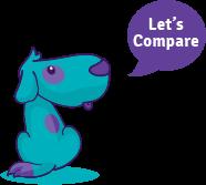 Comparison dog